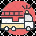 Firetruck Truck Ladder Icon