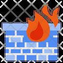 Firewall Protection Virus Icon