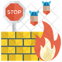 Firewall Internet Security Protection Icon