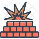 Firewall Blast Fire Icon