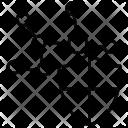 Firewall Graph Network Icon