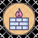 Firewall Wall Internet Icon