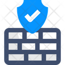 M Firewall Firewall Security Firewall Protection Icon