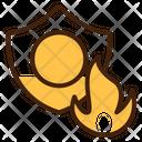 Firewall Anonymity Hacker Icon