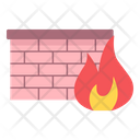 Network Firewall Firewall Protection Wall Icon