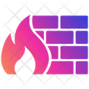Firewall Security Protection Icon
