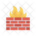 Firewall Wall Security Icon