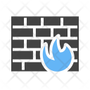 Firewall Safety Security Icon