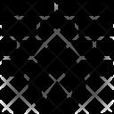 Wall Bricks Firewall Icon