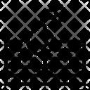 Bomb Attack Explosive Wall Firewall Attack Icon