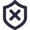 Firewall Disable Off Icon