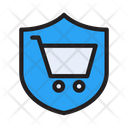 Security Shield Cart Icon