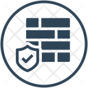 Firewall Protection Security Icon