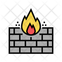 Fire Wall Color Icon