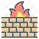 Firewall Security Firewall Antivirus Icon