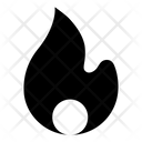Firewall Security Fire Flame Icon