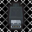 Firewire Cable Plug Icon