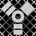 Firewire Symbol Plug Icon