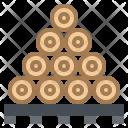 Firewood Wood Lumber Icon