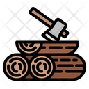 Firewood Wood Trunk Icon