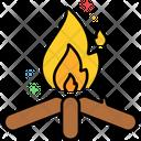 Mfirewood Firewood Bonfire Icon