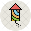 Firework Rocket Party Icon