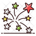 Firework Celebration Stars Icon