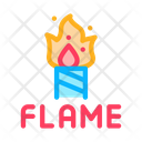 Firework Flame Pyrotechnic Icon