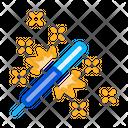 Firework Sparkler Pyrotechnic Icon