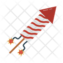 Fireworks Party Christmas Icon