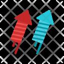 Fireworks Rocket Craker Icon