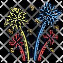Fireworks Celebration Festival Icon