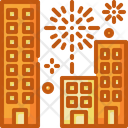 Fireworks Tower City Icon
