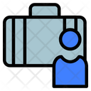 Firm And Individuals Briefcase Business Icon