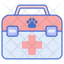 First Aid Animal First Aid Medical Kit Icon