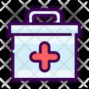 Medicine Box Suitcase Icon