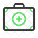 First Aid Briefcase Camping Icon
