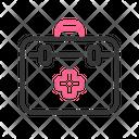 First Aid Box Suitcase Medicine Icon
