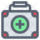 Aid Briefcase Camping Icon