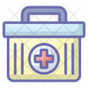 Tablet Box Medicine Box Medical Case Icon