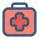 First Aid Kit Medical Box Aid Kit Icon
