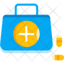 First Aid Kit Medical Kit Medicine Icon