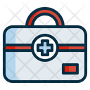 First Aid Kit Medical Kit Aid Icon