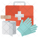 Medical Aid First Aid Kit Emergency Medication Icon