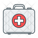 First Aid Box Medical Case Emergency Kit Icon