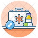First Aid Kit Medicine Box Tablet Kit Icon