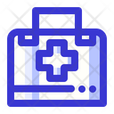 Doctors Kit First Aid Kit Health Icon
