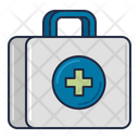 Healthcare First Aid Kit First Aid Box Icon