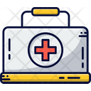 First Aid Suitcase Help Icon