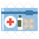 First Aid Kit Emergency Medicine Icon